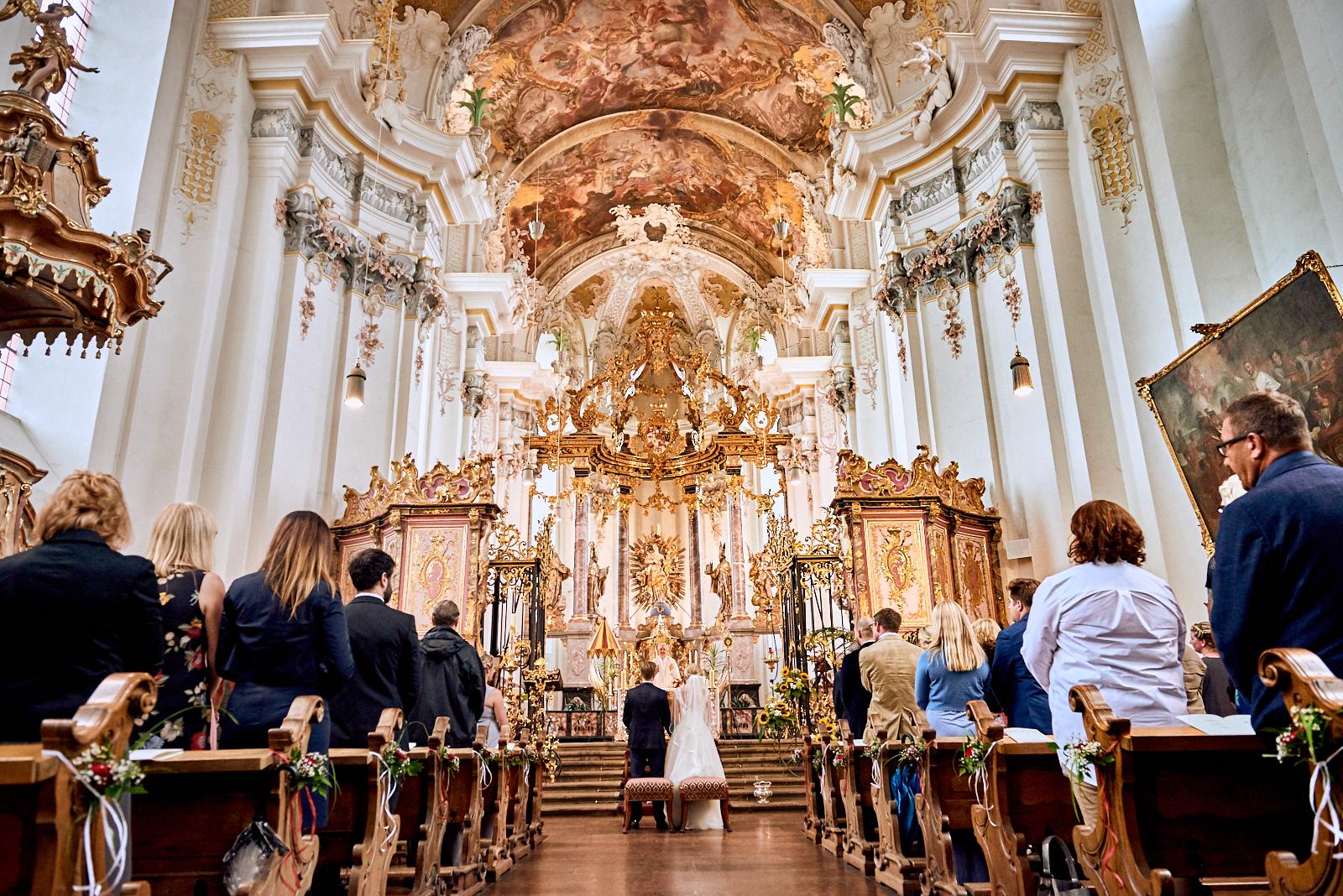 Hochzeit St. Paulin Kirche Trier