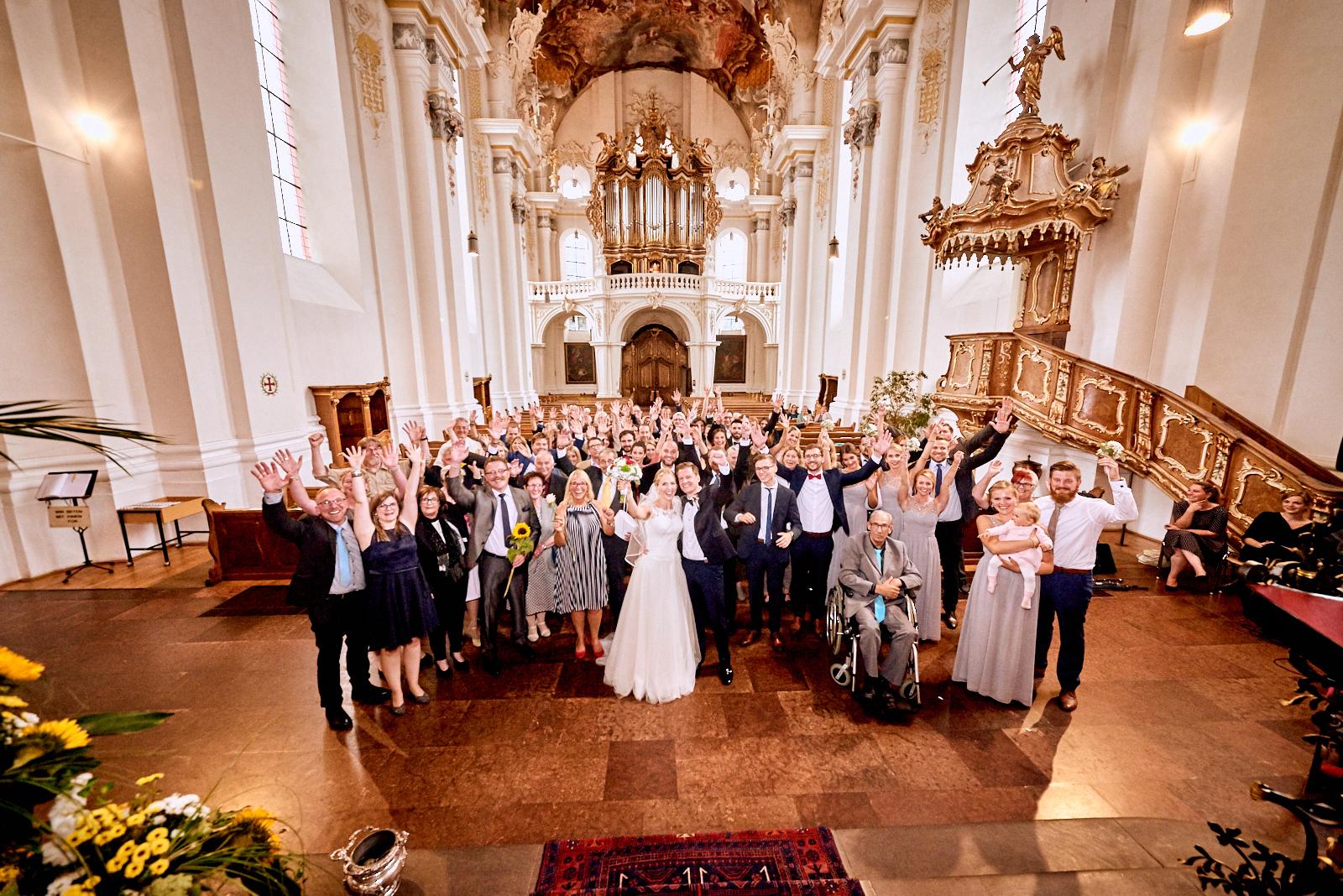 Gruppenbild St. Paulin Kirche Trier